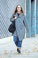 KEIRA KNIGHTLEY Out and About in London 09/12/2017