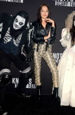 KELLI BERGLUND at Knott's Scary Farm Celebrity Night in Buena Park 09/29/2017