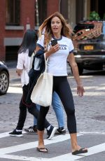 KELLY BENSIMON Leaves a Gym in New York 09/04/2017
