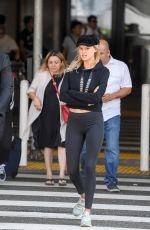 KELLY ROHRBACH at Los Angeles International Airpiort 09/17/2017
