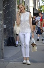 KELLY RUTHERFORD Out Shopping in New York 09/04/2017