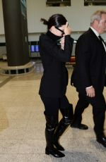 KENDALL and KRIS JENNER Arrives at Malpensa Airport in Milan 09/20/2017