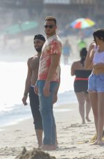 KENDALL JENNER and Blake Griffin at a Beach in Malibu 09/03/2017