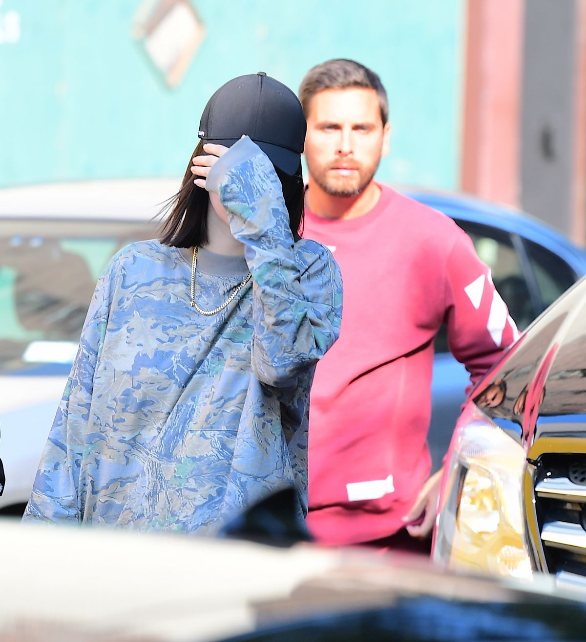 KENDALL JENNER and Scott Disick Out for Lunch in New York 09/05/2017