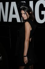 KENDALL JENNER at Alexander Wang Fashion Show in New York 09/09/2017