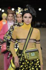 KENDALL JENNER at Marc Jacobs Fashion Show at New York Fashion Week 09/13/2017