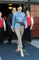 KENDALL JENNER Leaves Bowery Hotel in New York 09/09/2017