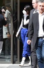 KENDALL JENNER Leaves Her Hotel in Milan 09/23/2017