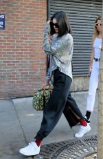 KENDALL JENNER Out and About in New York 09/05/2017