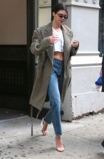 KENDALL JENNER Out and About in New York 09/07/2017