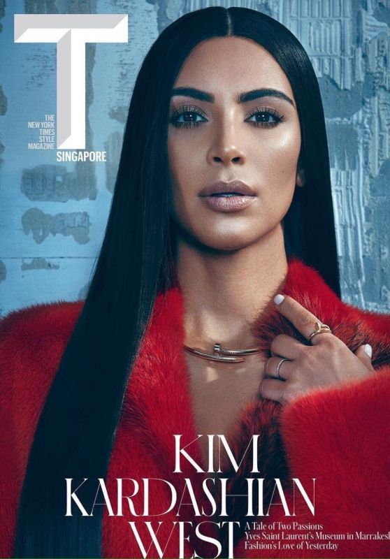 KIM KARDASHIAN in T Magazine, Singapore September 2017 Issue