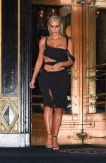 KIM KARDASHIAN Leaves Park Plaza Hotel in New York 09/07/2017