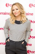 KIMBERLEY WALSH at Lorraine TV Show in London 09/26/2017
