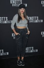 KIRA KOSARIN at Knott's Scary Farm Celebrity Night in Buena Park 09/29/2017