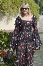 KIRSTEN DUNST Arrives at Excelsior Hotel in Venice 09/04/2017