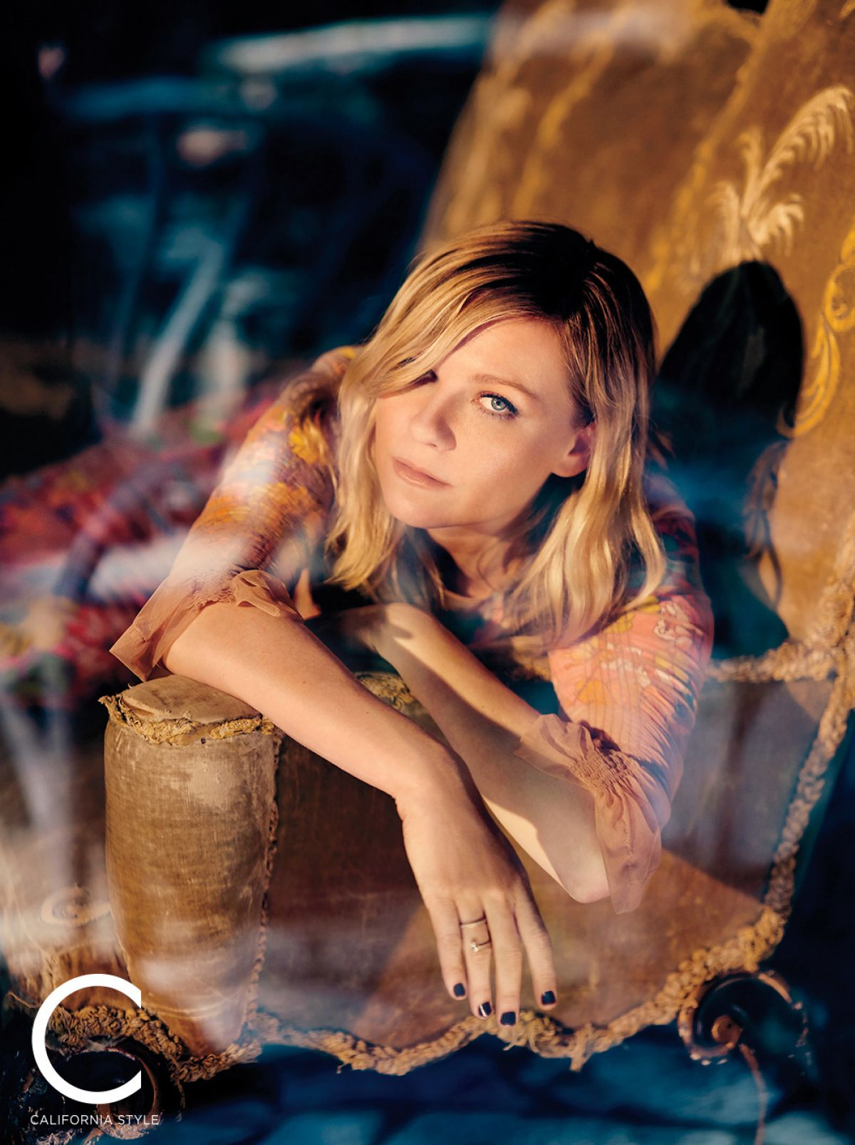 KIRSTEN DUNST foe C California Style Magazine, October ...