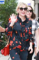 KIRSTEN DUNST Out and About in New York 09/13/2017
