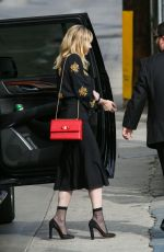 KIRSTEN DUSNT Arrives at Jimmy Kimmel Live in Los Angeles 09/19/2017