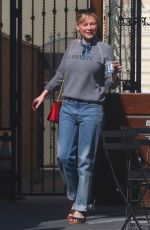 KIRSTEN DUSNT Out for Coffee in Los Angeles 09/23/2017