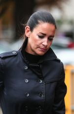 KIRSTY GALLACHER Arrives at Slough Magistrates Court 09/04/2017