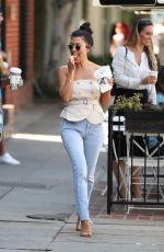 KOURTNEY KARDASHIAN in Jeans Out in Los Angeles 09/07/2017