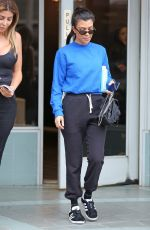 KOURTNEY KARDASHIAN Out and About in Studio City 09/20/2017