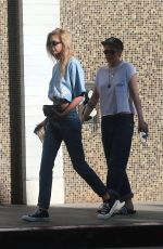 KRISTEN STEEWART and STELLA MAXWELL Out for Lunch in Los Angeles 09/24/2017