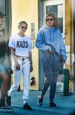 KRISTEN STEWART and STELLA MAXWELL Out and About in New York //