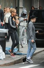 KRISTEN STEWART and STELLA MAXWELL Out in New York 09/02/2017