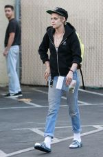 KRISTEN STEWART Out and About in Los Angeles 09/20/2017