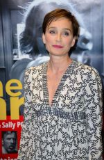 KRISTIN SCOTT THOMAS at The Party Premiere in Paris 09/05/2017