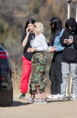 KYLIE JENNER Out and About in Los Angeles 09/22/2017