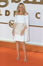 KYLIE MINOGUE at Kingsman: The Golden Circle Premiere in London 09/18/2017