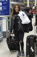 KYM MARSH, JULIA GOULDING and BHAVNA LIMBACHIA at Train Station in Manchester 09/04/2017