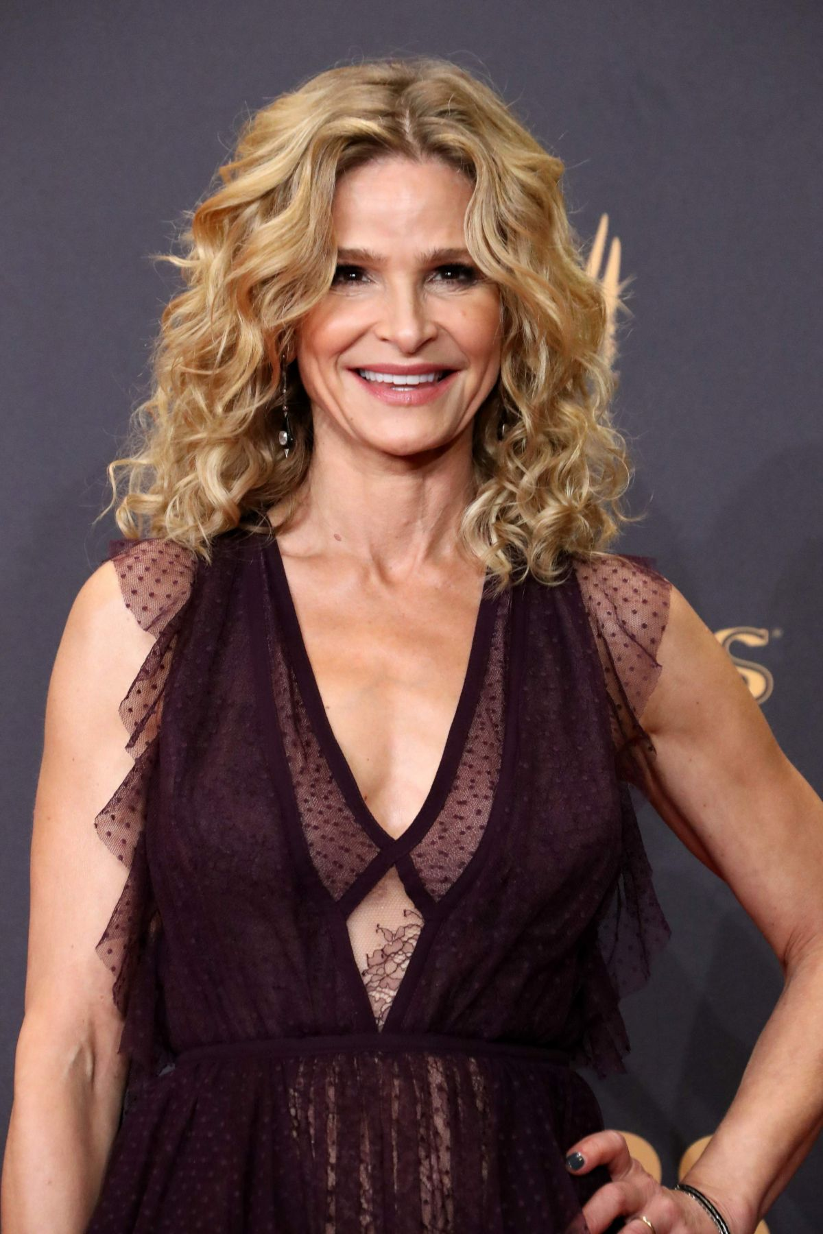 KYRA SEDGWICK at 69th Annual Primetime EMMY Awards in Los Angeles 09/17/2017