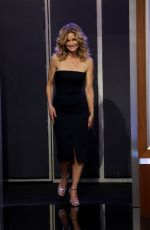 KYRA SEDGWICK at Jimmy Kimmel Live 09/20/2017