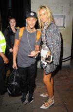 LADY VICTORIA HERVEY at Tito Jackson New Album Launch at Dstrkt Nightclub in London 08/31/2017