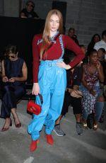 LARSEN THOMPSON at 3.1 Phillip Lim Fashion Show in New York 09/11/2017