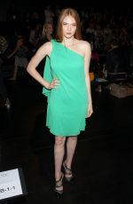 LARSEN THOMPSON at Badgley Mischka Fashion Show at New York Fashion Week 09/12/2017