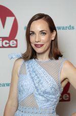 LAURA MAIN at TV Choice Awards in London 09/04/2017
