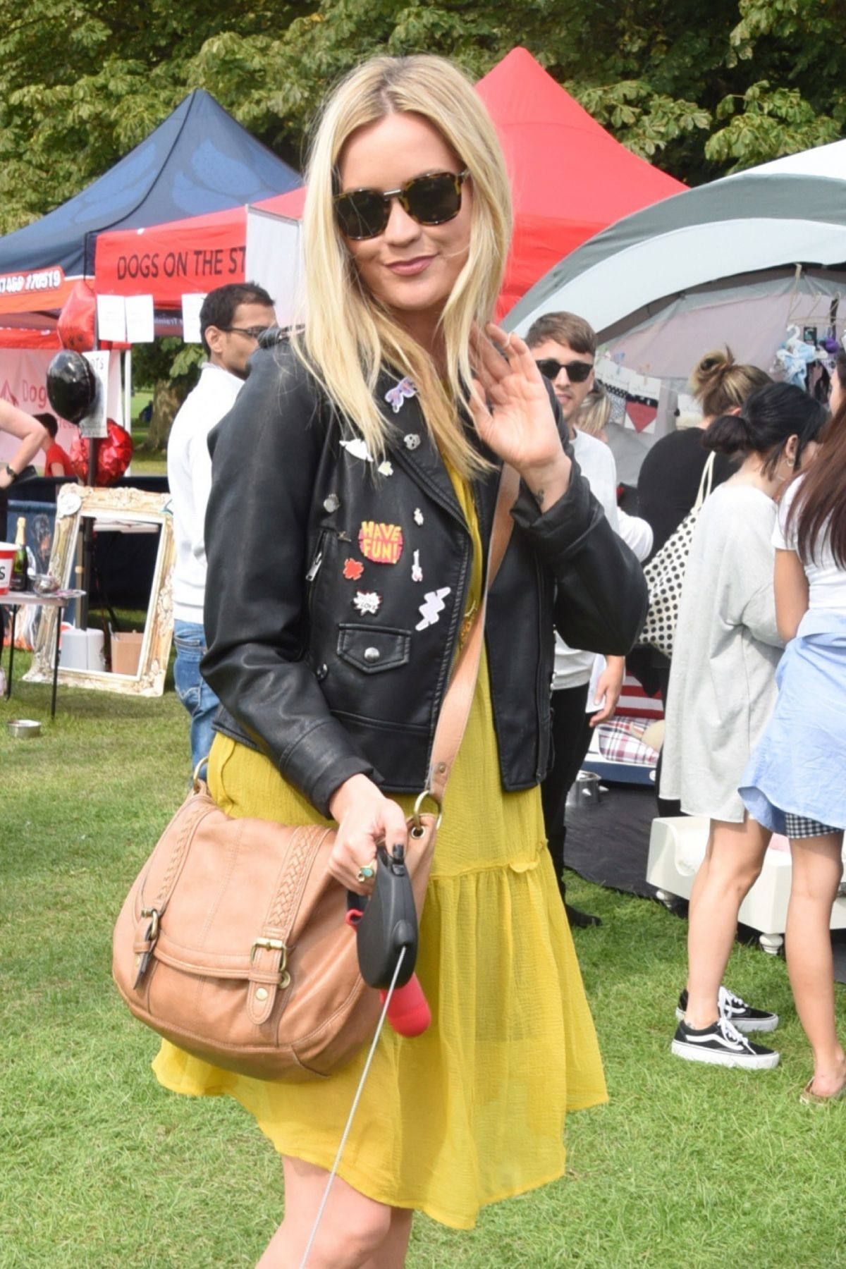 LAURA WHITMORE at Pupaid 2017 in London 09/02/2017