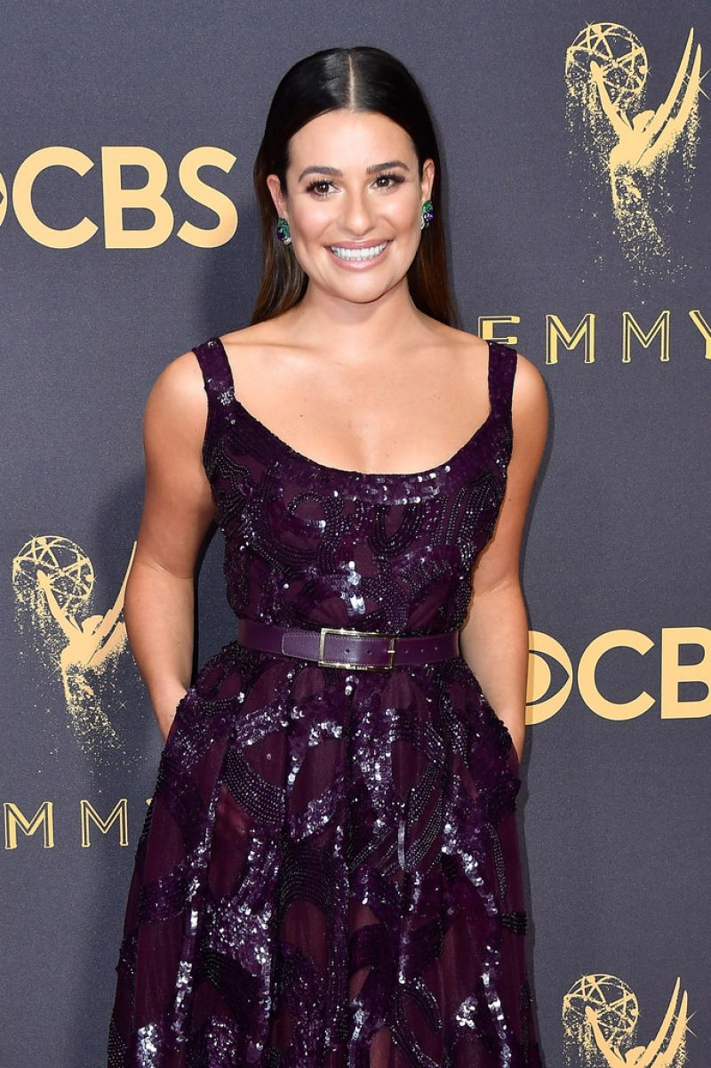 LEA MICHELE at 69th Annual Primetime EMMY Awards in Los Angeles 09/17/2017