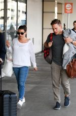 LEA MICHELE at LAX Airport in Los Angeles 09/02/2017