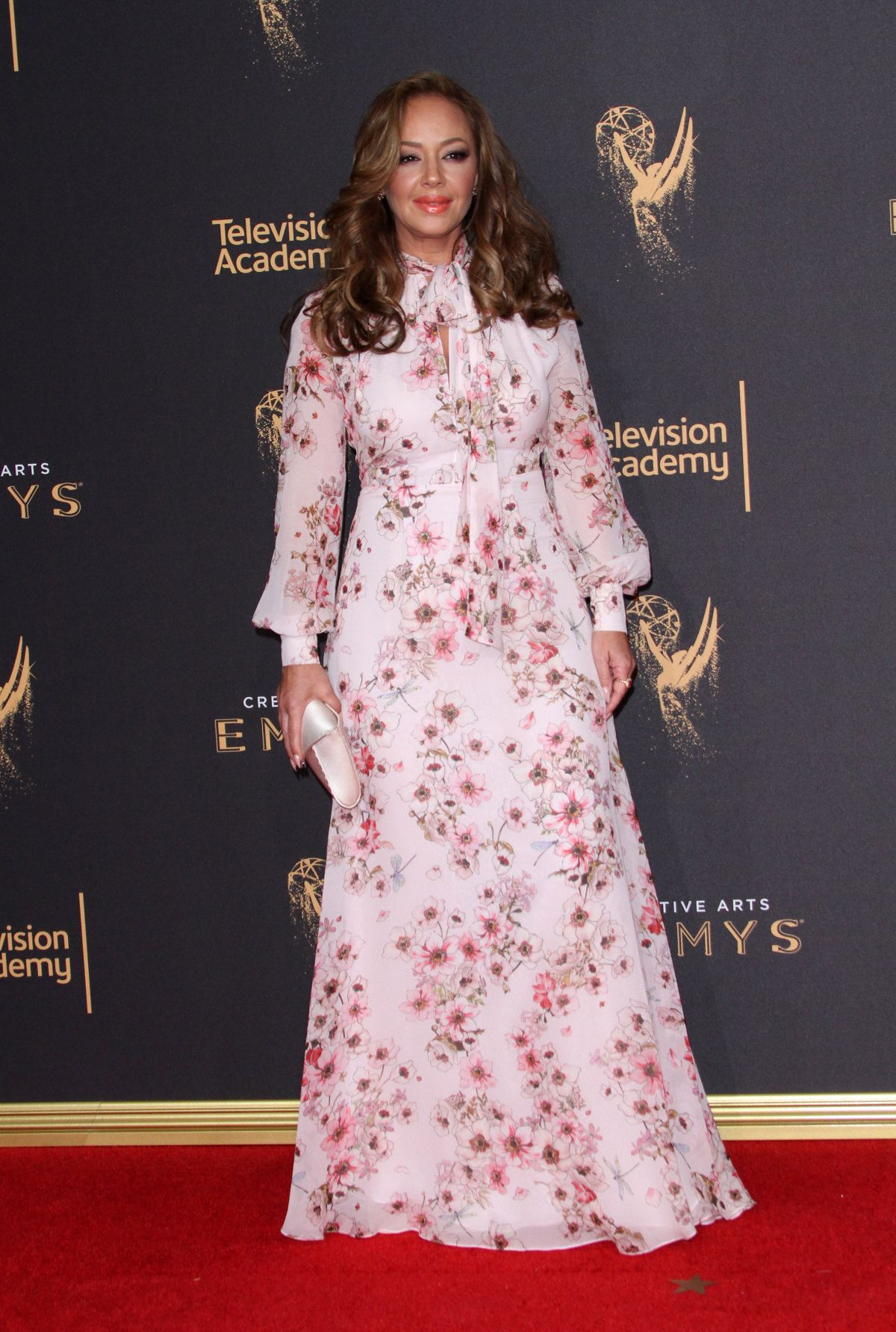 LEAH REMINI at 2017 Creative Arts Emmy Awards in Los Angeles 09/09/2017