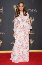 LEAH REMINI at Creative Arts Emmy Awards in Los Angeles 09/10/2017