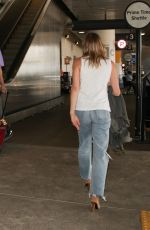 LEANN RIMES at LAX Airport in Los Angeles 09/01/2017