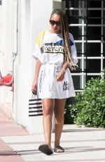 LEIGH-ANNE PINNOCK Out and About in Miami 09/05/2017