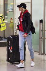 LENA GERCKE at Tegel Airport in Berln 09/03/2017