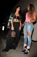 LEXY PANTERRA and SOMMER RAY at Catch LA in West Hollywood 09/04/2017