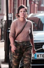LILY ALLEN and Sam Cooper Out in London 09/07/2017